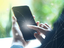 Tecnología para el negocio Imagen de archivo