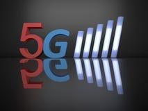 Tecnología próxima del móvil 5g Fotografía de archivo libre de regalías