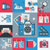 Tecnología retra de la foto Libre Illustration