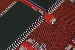 Tecnología - tarjeta gráfica fotografía de archivo libre de regalías