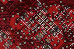 Tecnología - tarjeta gráfica Imagenes de archivo