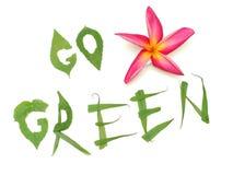 Tecnología verde Fotografía de archivo