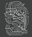 Tecnología virtual Foto de archivo