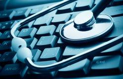 Tecnología y medicina Foto de archivo