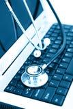 Tecnología y medicina fotografía de archivo