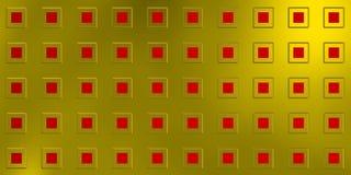 Tecnología y textura futurista con los cuadrados del res ilustración del vector