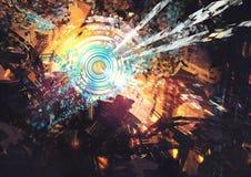 Tecnologías abstractas compuestas Foto de archivo libre de regalías