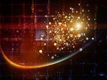 Tecnologías de la partícula Imagen de archivo libre de regalías