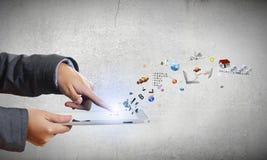 Tecnologías de los media Imágenes de archivo libres de regalías