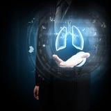 Tecnologías innovadoras en medicina Fotografía de archivo libre de regalías