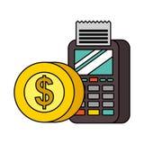 Tecnolog?a del pago de NFC imagenes de archivo