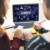 Tecnología Atom Dna Concept de la célula madre de la ciencia Fotografía de archivo