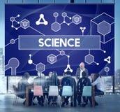 Tecnología Atom Dna Concept de la célula madre de la ciencia Imágenes de archivo libres de regalías