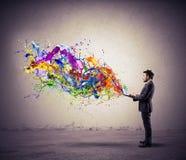 Tecnología creativa Foto de archivo libre de regalías