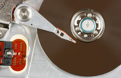 Tecnología de almacenaje de datos Imágenes de archivo libres de regalías