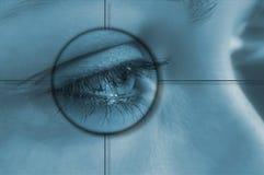 Tecnología del ojo Imágenes de archivo libres de regalías