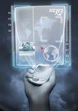 Tecnología futura Imágenes de archivo libres de regalías