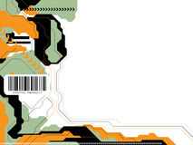 Tecnología v3 de los datos Foto de archivo libre de regalías