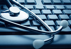 Tecnología y medicina Fotos de archivo libres de regalías