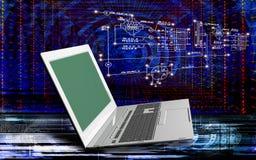 Tecnologías de Internet del ordenador de la ingeniería Imagen de archivo libre de regalías