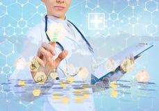 Tecnologías innovadoras en medicina Foto de archivo