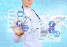 Tecnologías innovadoras en medicina Imagen de archivo libre de regalías