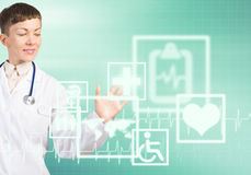 Tecnologías modernas en medicina Foto de archivo libre de regalías