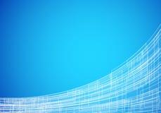 Tecnologia abstrata azul Imagens de Stock
