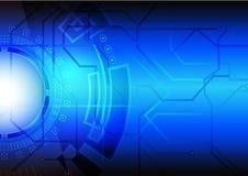 Tecnologia abstrata do fundo Imagem de Stock