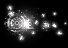 Tecnologia abstrata do futuro da engenharia do vetor ilustração do vetor