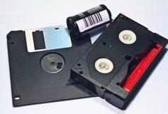Tecnologia antiquata tre Fotografia Stock Libera da Diritti