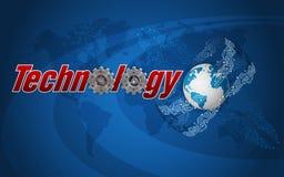 Tecnologia, a arquitetura global da informação Fotos de Stock