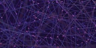 Tecnologia astratta di scienza del fondo Immagini Stock Libere da Diritti