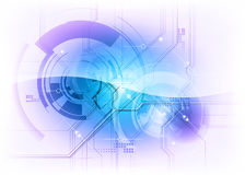 Tecnologia azul Foto de Stock
