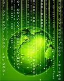 Tecnologia binária Imagens de Stock Royalty Free