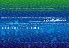 Tecnologia binaria moderna Immagini Stock
