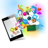 Tecnologia colorida Fotografia de Stock