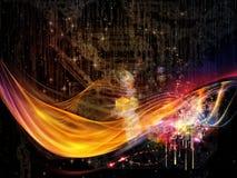 Tecnologia colorida Imagem de Stock