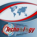 Tecnologia, conexões diretas Imagem de Stock Royalty Free