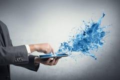Tecnologia creativa Fotografie Stock Libere da Diritti