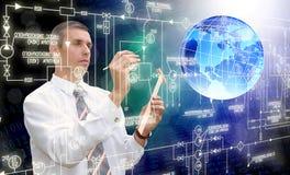 Tecnologia da conexão Foto de Stock Royalty Free