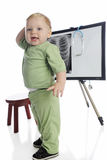 Tecnologia da criança imagem de stock royalty free