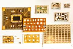 Tecnologia da eletrônica do transistor do filme imagem de stock