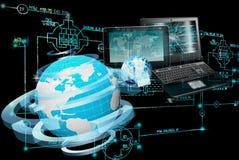 tecnologia da engenharia do E-computador Imagens de Stock Royalty Free