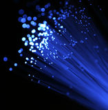 Tecnologia da fibra óptica Imagem de Stock