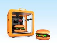tecnologia da impressão 3D para a indústria alimentar Fotografia de Stock