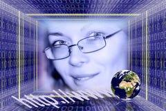 Tecnologia da informação Fotografia de Stock