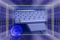 Tecnologia da informação global. fotos de stock royalty free
