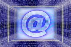 Tecnologia da informação global ilustração royalty free
