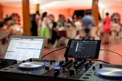 Tecnologia da música Imagem de Stock Royalty Free